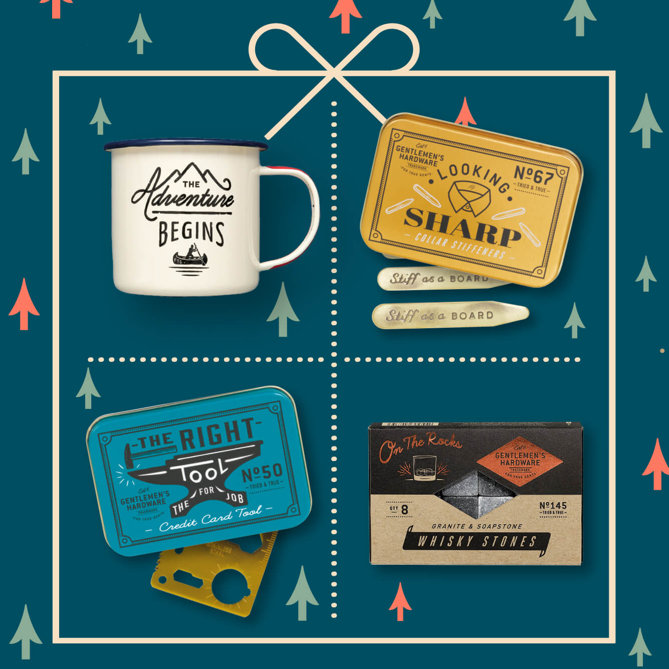 Mens Holiday Stocking Fillers from Wild & Wolf - All wrapped up