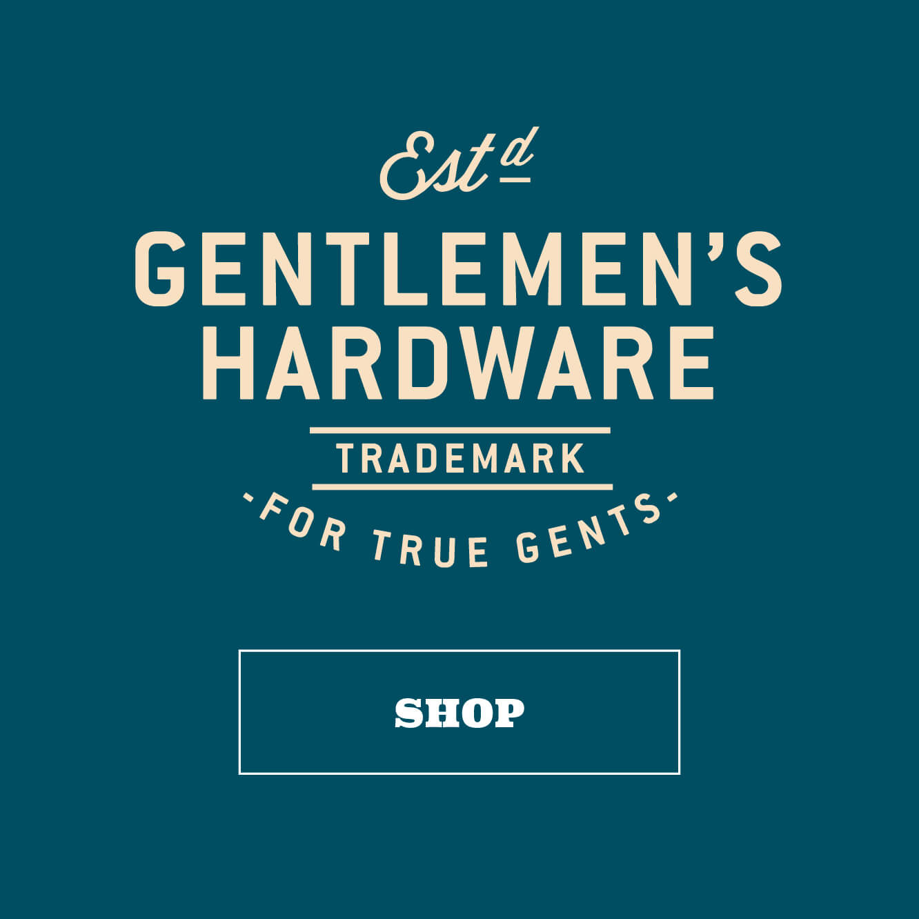 Shop Gentlemen's Hardware by Wild & Wolf - For True Gents