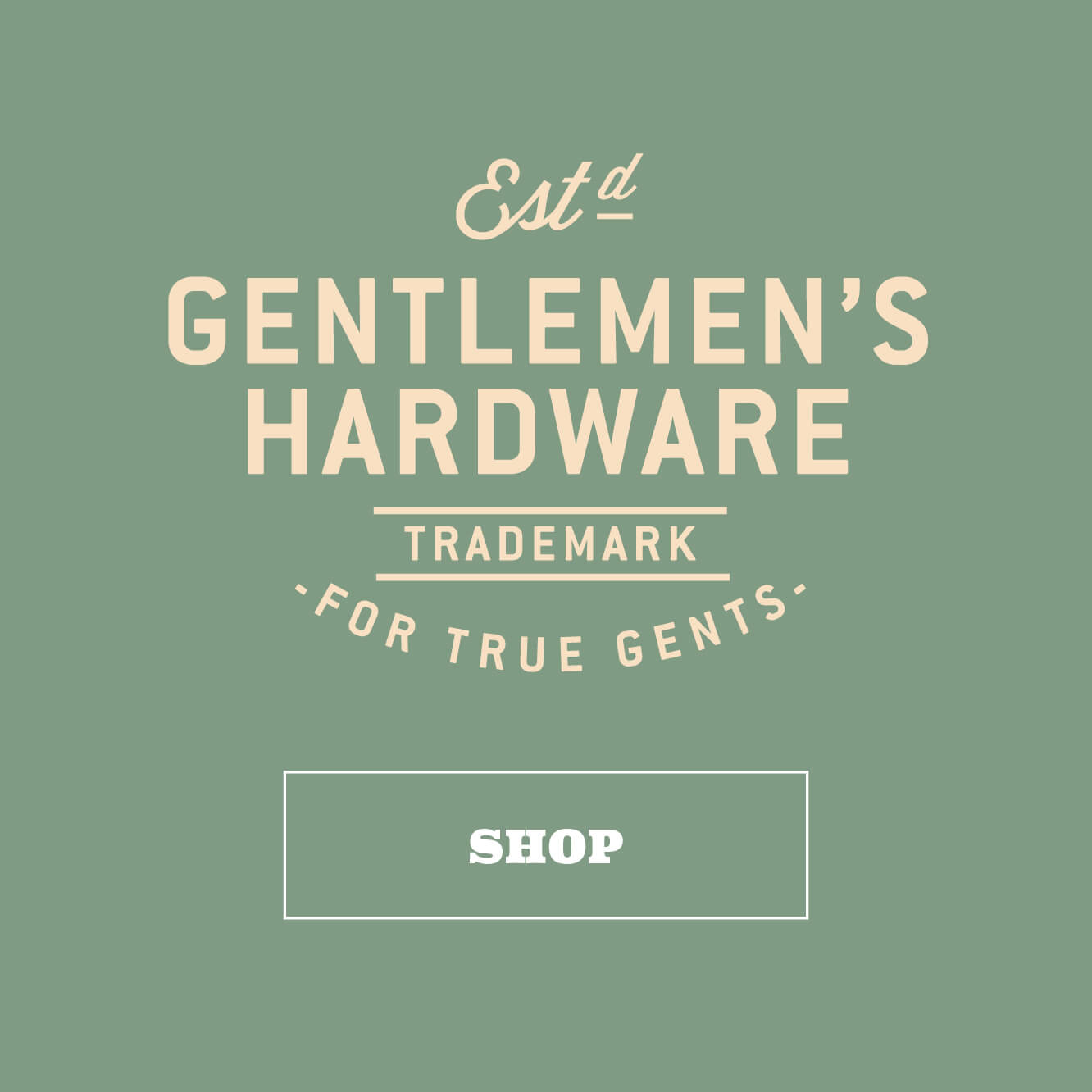 Shop Gentlemen's Hardware for true gents by Wild & Wolf