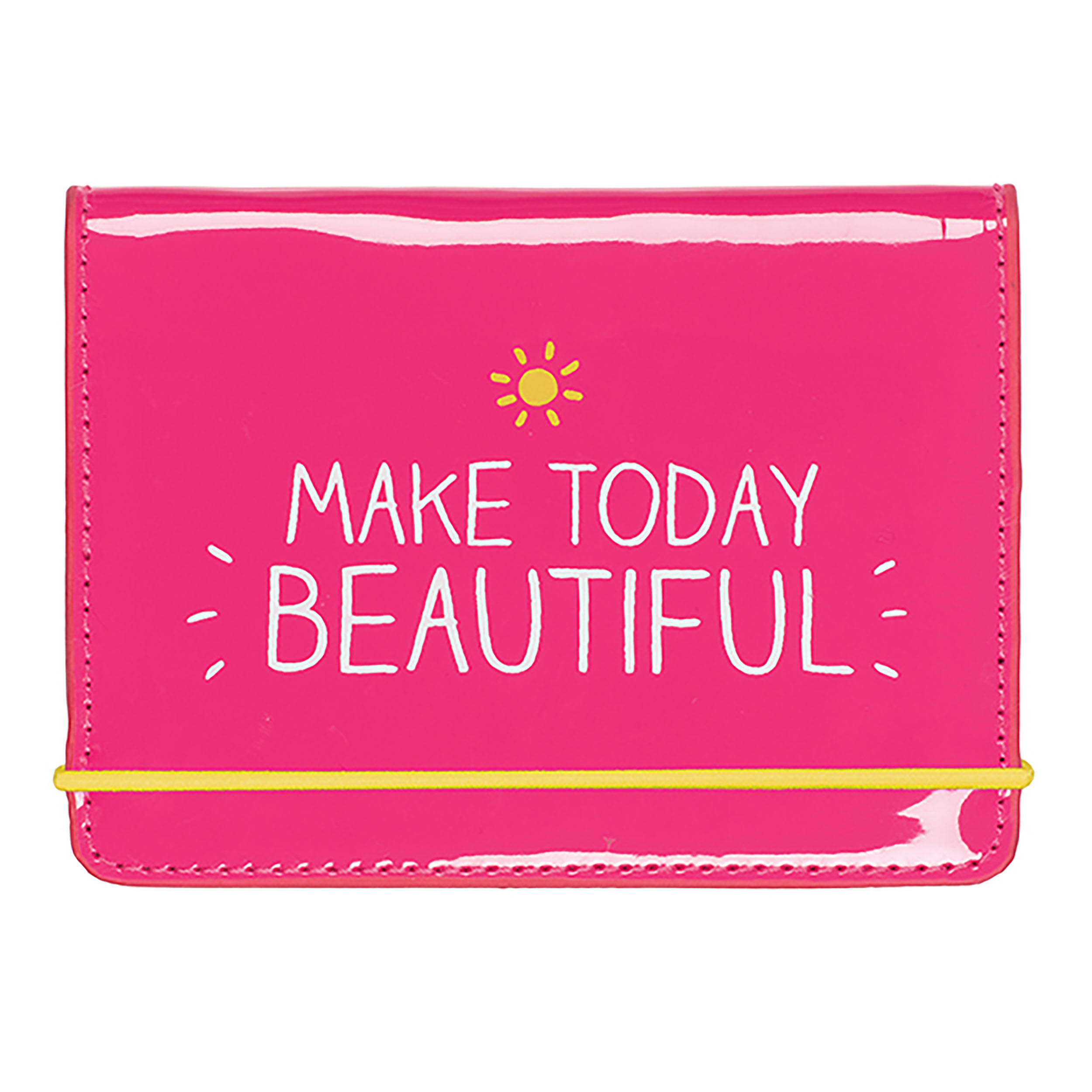 Card Holder, ' Make today beautiful'