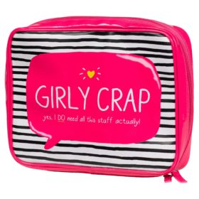 Girly Crap' Wash Bag