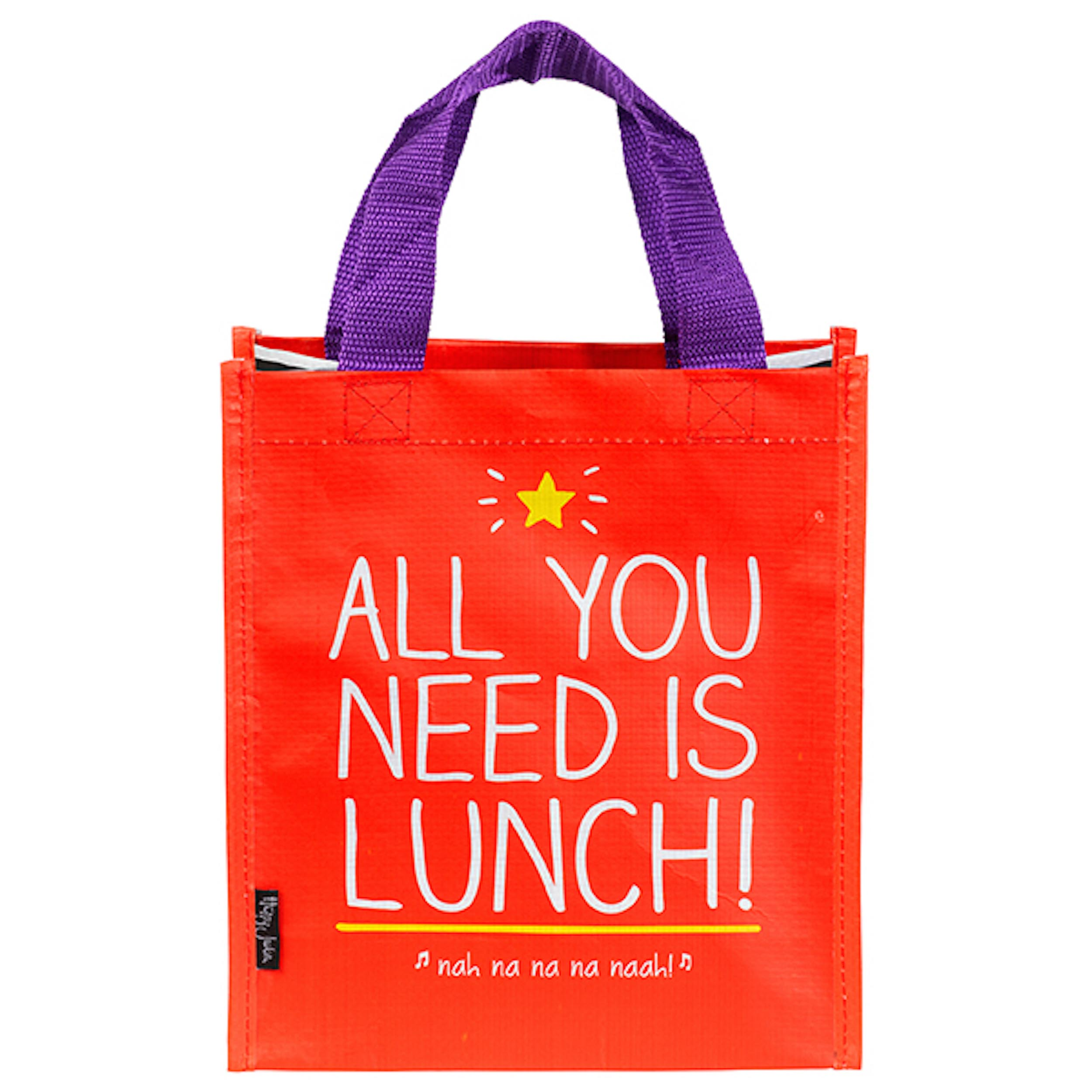 All You Need is Lunch' Tote Bag