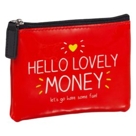 Hello Lovely Money' Coin Purse