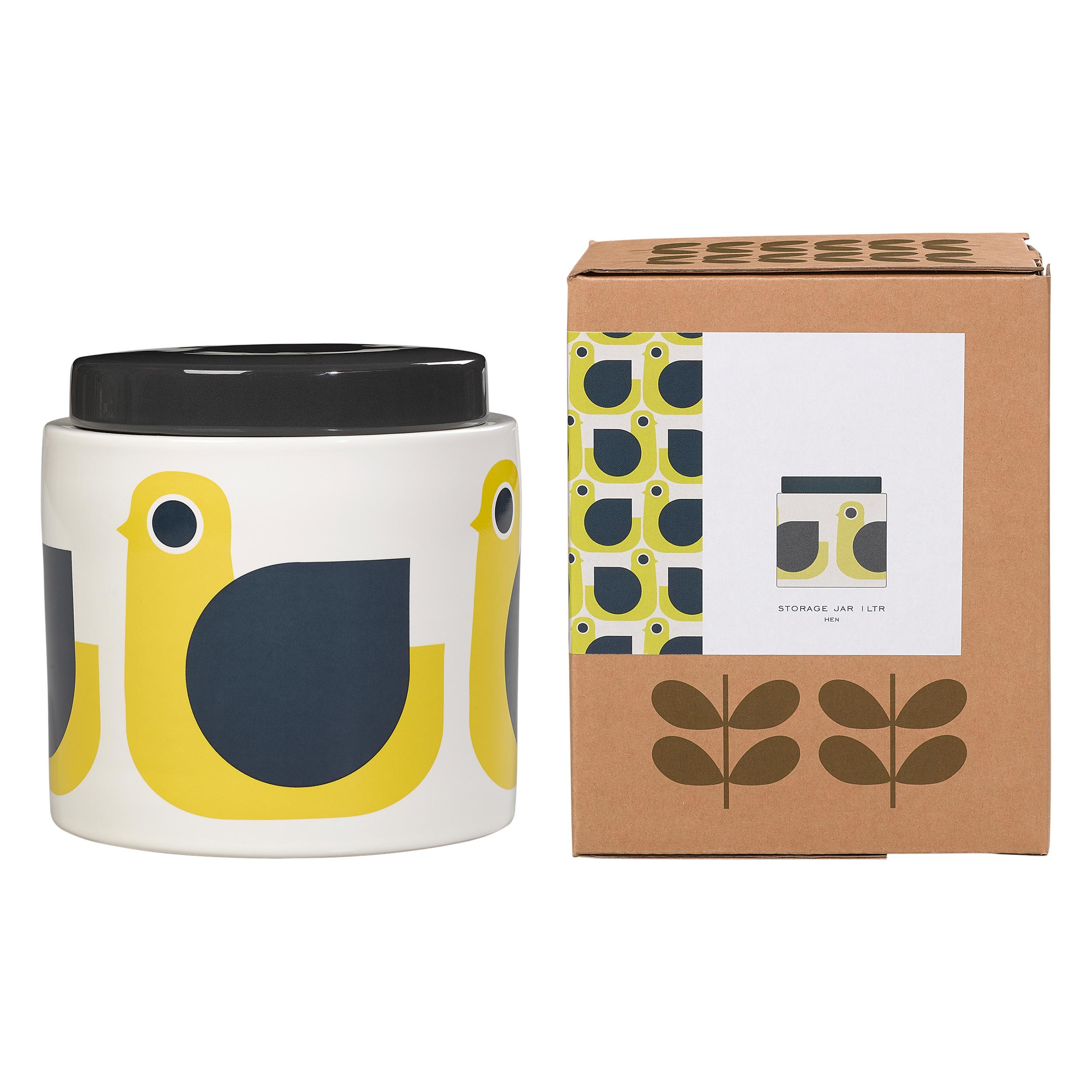1L Storage Jar Hen