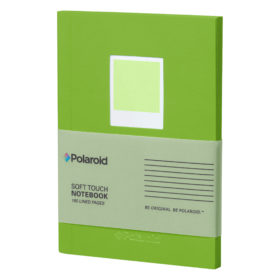 Green Soft Touch Small Notebook