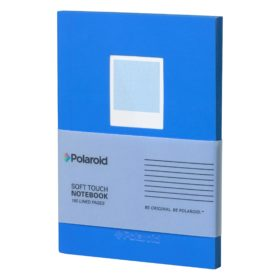Blue Soft Touch Small Notebook