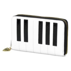 Keyboard Zip Purse