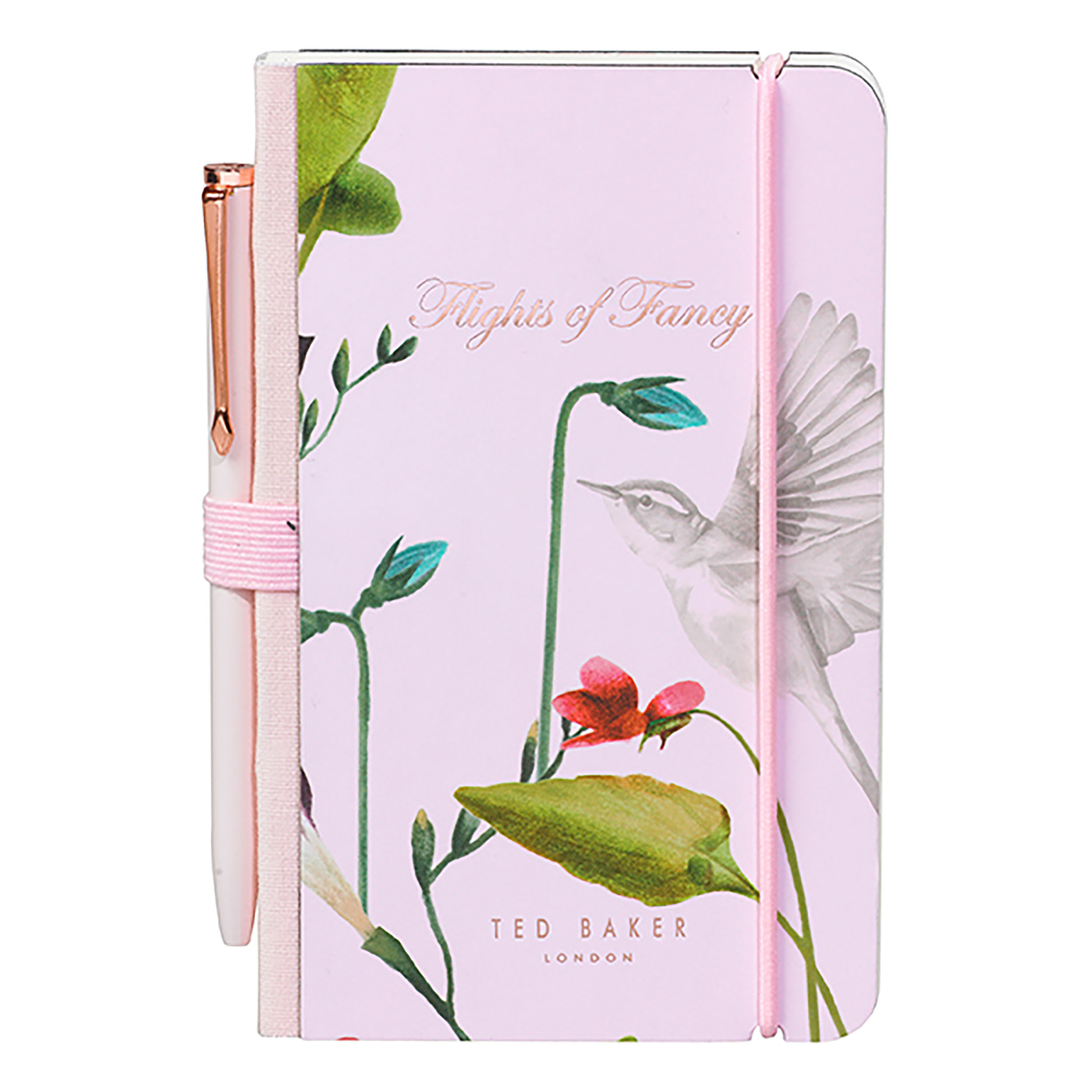 Mini Notebook & Pen, Oriental Bloom