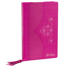 Brogue A5 Notebook, Bright Purple