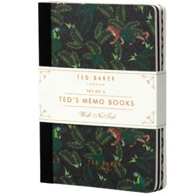 Small Memo Books, Set of 3