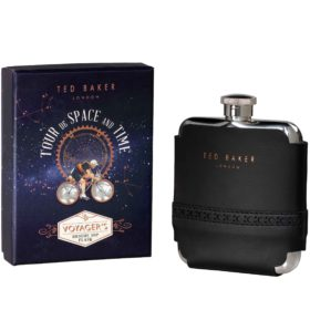 Hip Flask, Black Brogue
