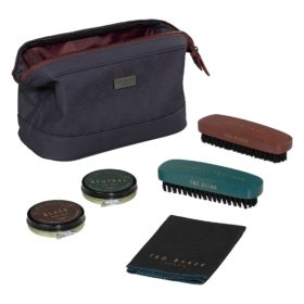 Shoe Shine Kit, Blue Cadet