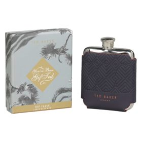 Hip Flask, Blue Cadet