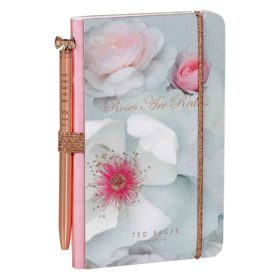 Mini Notebook & Pen, Chelsea Border
