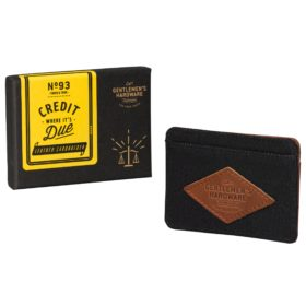 Charcoal Card Holder