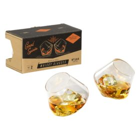 Rocking Whisky Glasses, set of 2