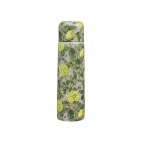 Roses yellow & grey flask