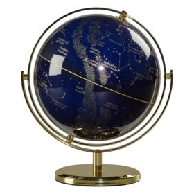 Globe 8″, Swivel Stand, Night Sky