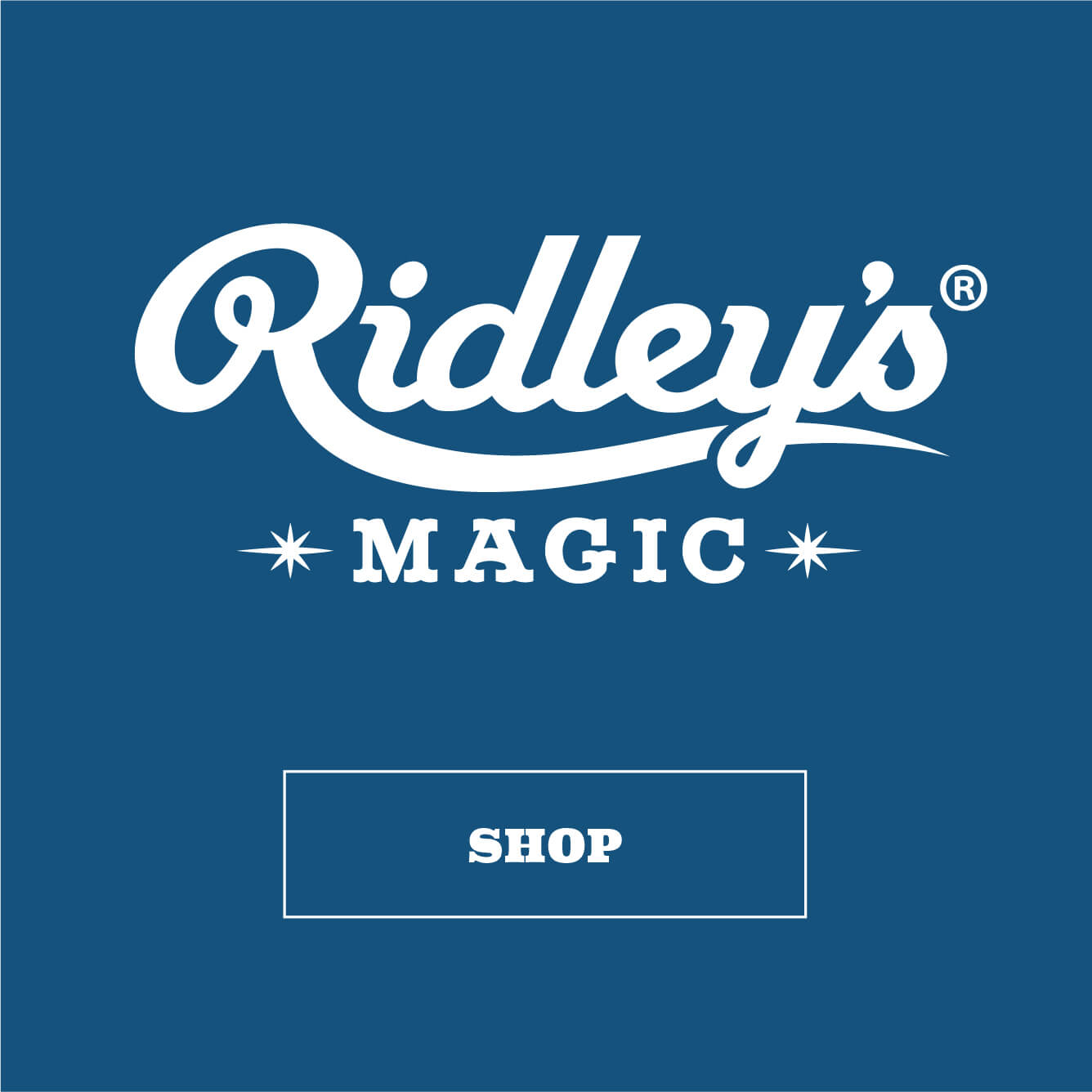 Ridleys Logo Tile Ridleys Magic Logo Tile 2