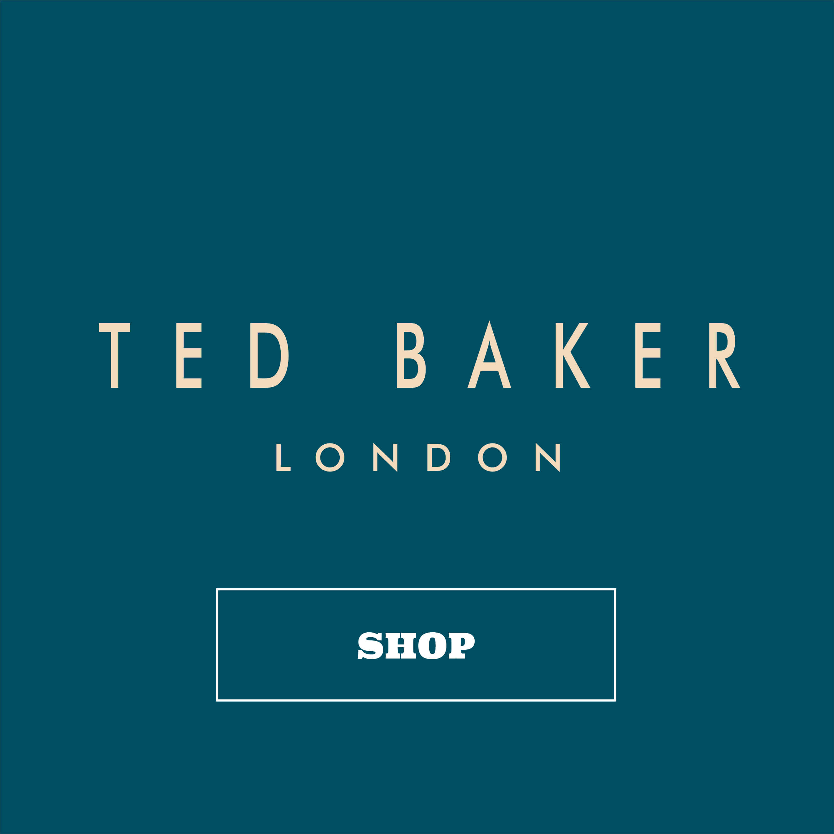 Homepage Tiles Ted Baker Logo Tile Blue